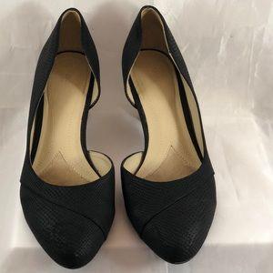🏄🏻♀️☀️Naturalizer black heels. Size 7.5